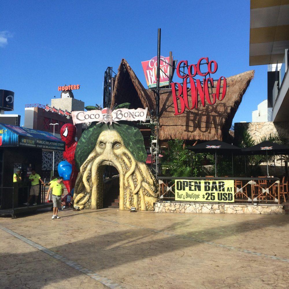 Coco Bongo in Cancun