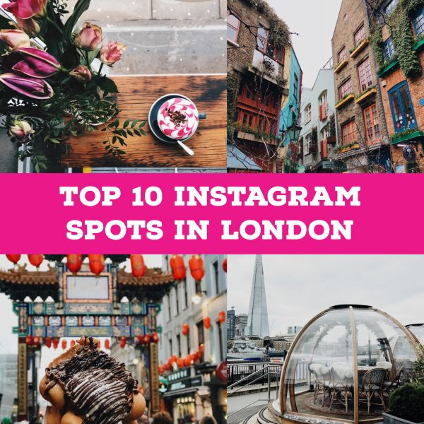 Top 10 Instagram spots in London